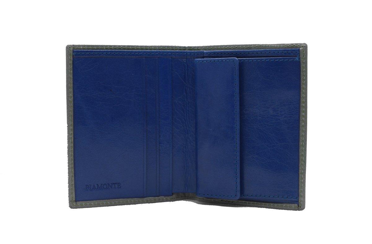 PIAMONTE, 720 Classics, Cartera pequeña Gris-acqua y Azul con Monedero.: Amazon.es: Equipaje