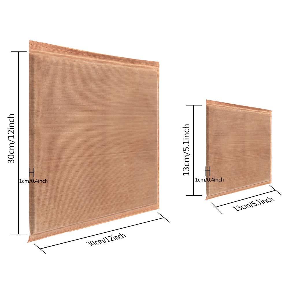 "5/"" x 5/"", 12/"" x 12/"" 2 Pack 2 Sizes Heat Press Pillow Mat Heat Pressing Transfer Pillow Easy Press Mat Reusable Heat Resistant for Heat Press Digital Transfer Projects"