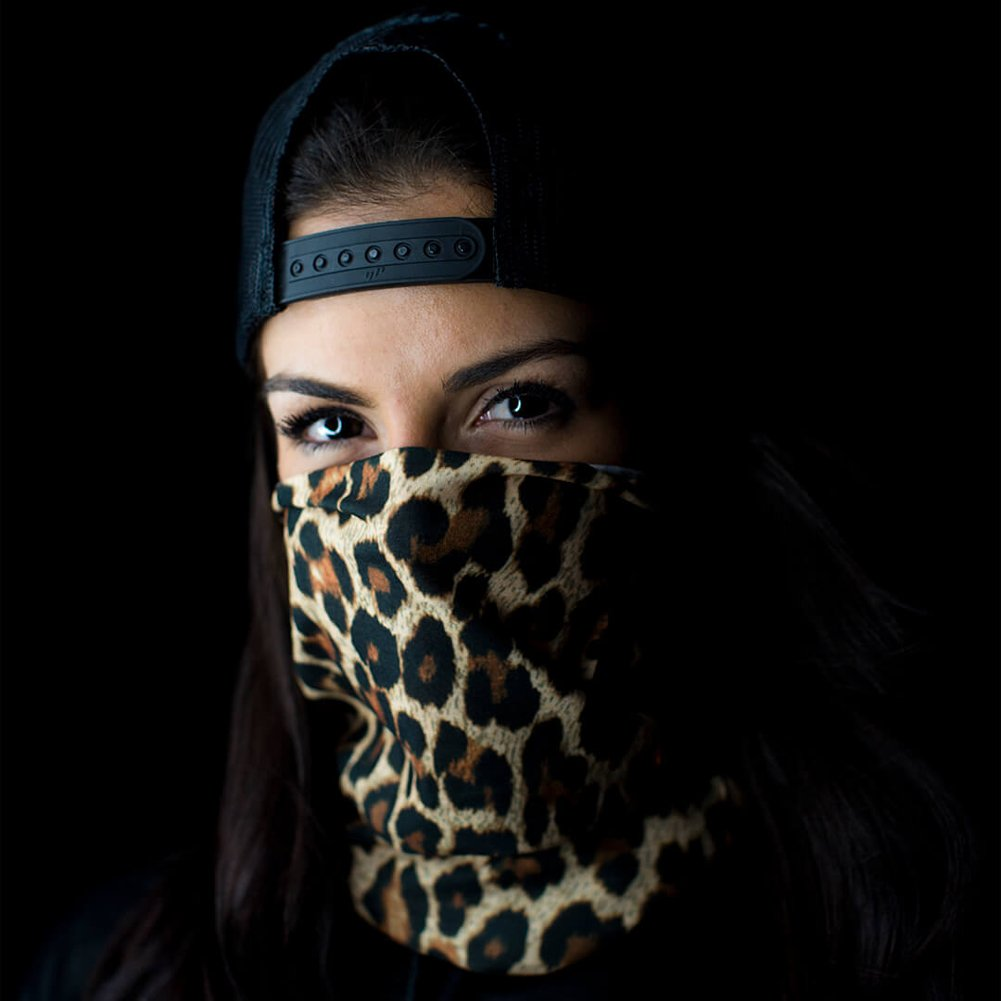 Boating Worn as a Balaclava Neck Gaiter /& Head Band for Hunting - Cheetah SA Company Face Shield Micro Fiber Protect from Wind Fishing Cycling Paintball and Salt Lovers Dirt and Bugs