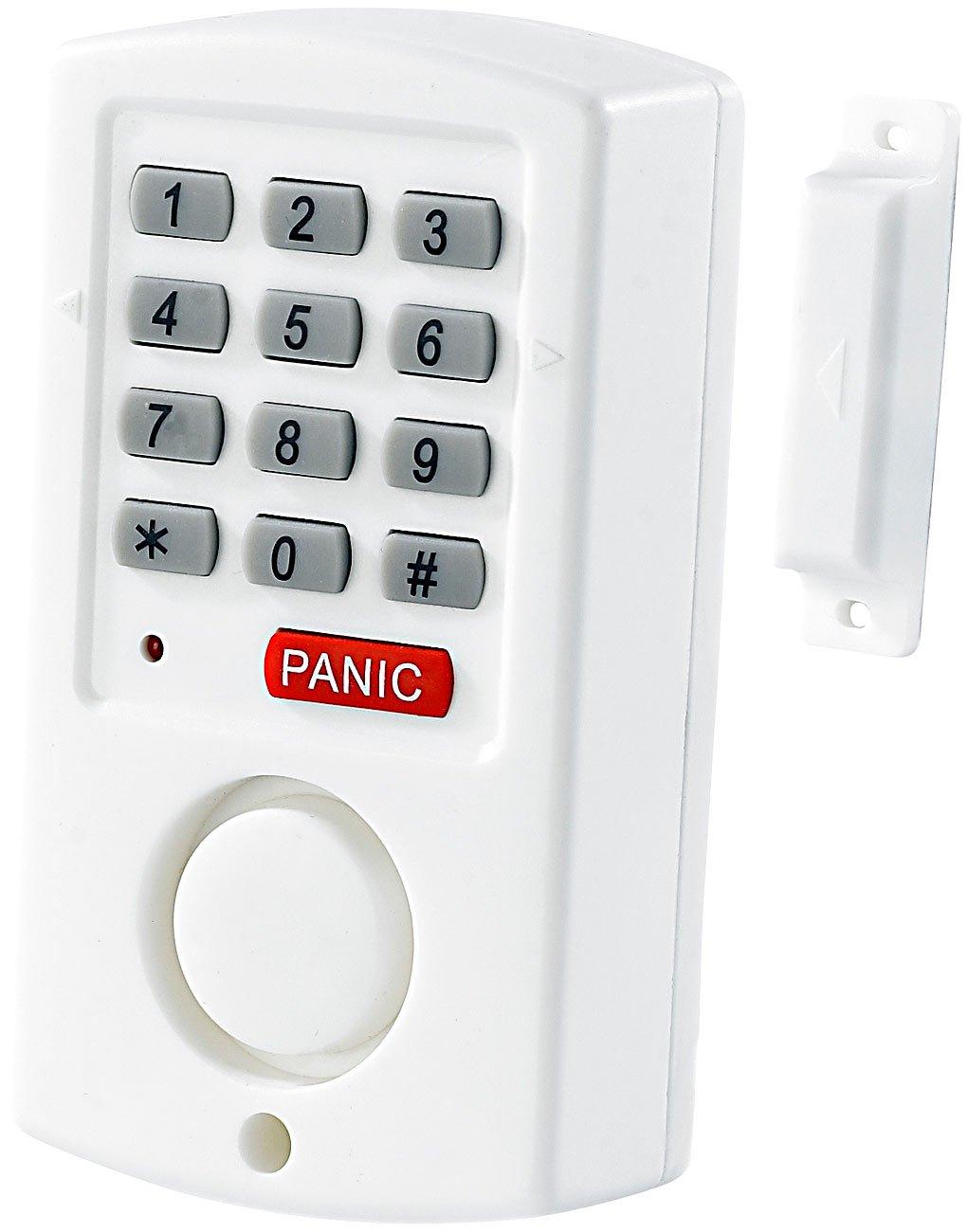 4x Mini Tür und Fensteralarm Türalarm Hausicherung Alarmanlage lauter Alarmton
