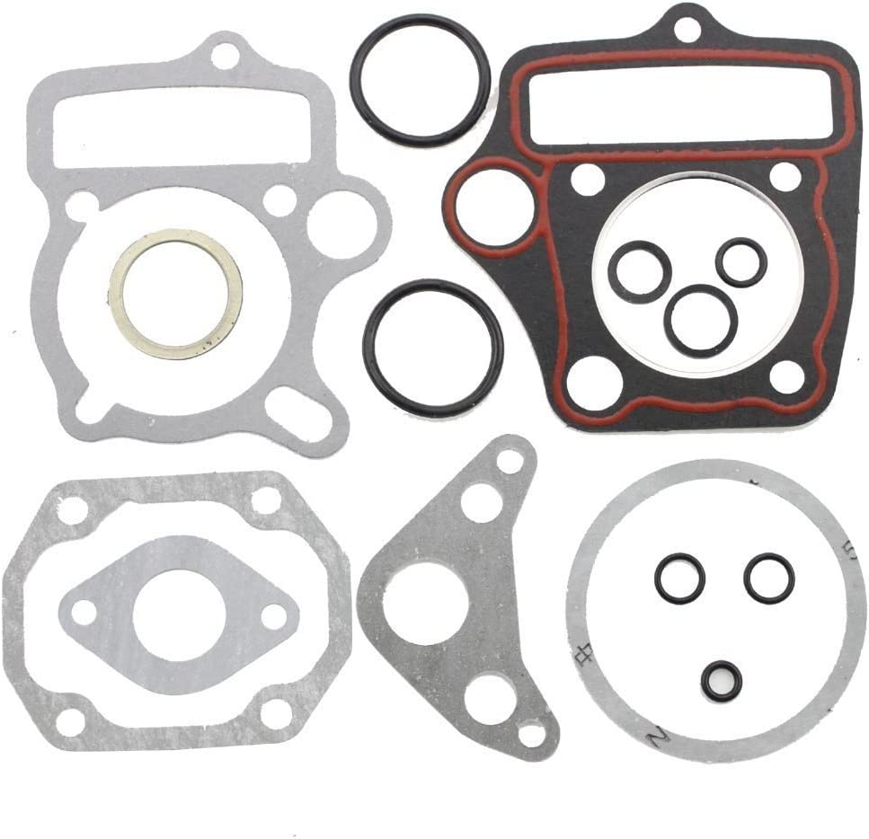 Univas 50Cc 70Cc 90Cc 110Cc 125Cc Dirt Bike Cylinder Head Clutch Intake Gasket Kit