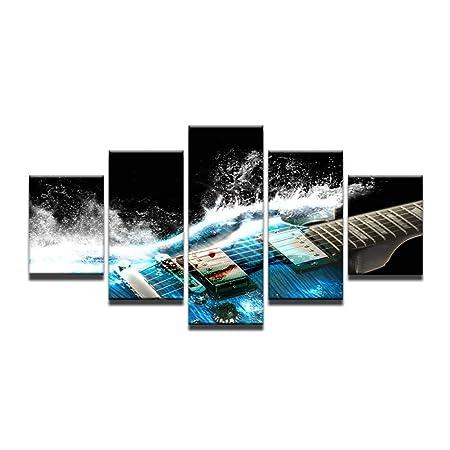 KGKBH 5 Pinturas consecutivas5 Paneles de Lienzo de impresión HD ...