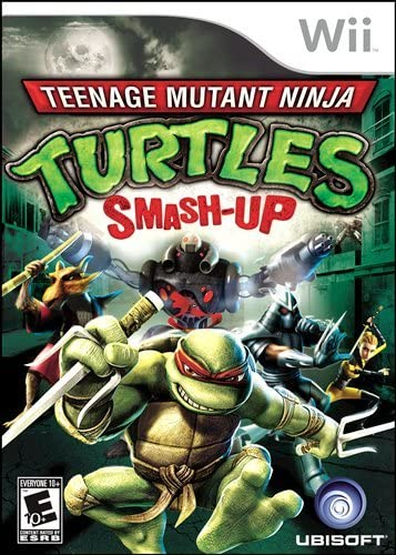 Amazon.com: Teenage Mutant Ninja Turtles: Smash Up: Wii ...