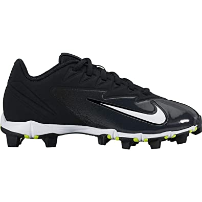 Nike Kids' Vapor Ultrafly Keystone Baseball Cleats (2.5, BlackWhite)