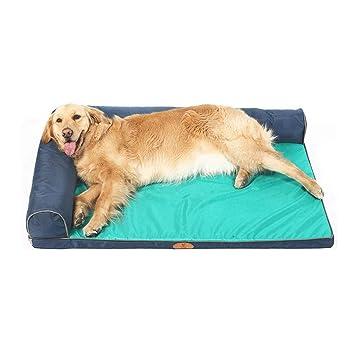 Cama para perros | Cama para mascotas ortopédica con sofá estilo sofá de Oxford para perros ...