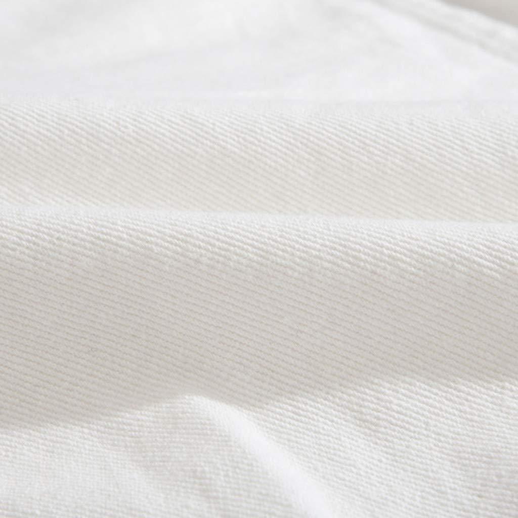Ultramall Long Sleeve Men's Long Sleeve Autumn Winter Casual Turn-Down Collar Denim Jacket Coat by Ultramall (Image #7)