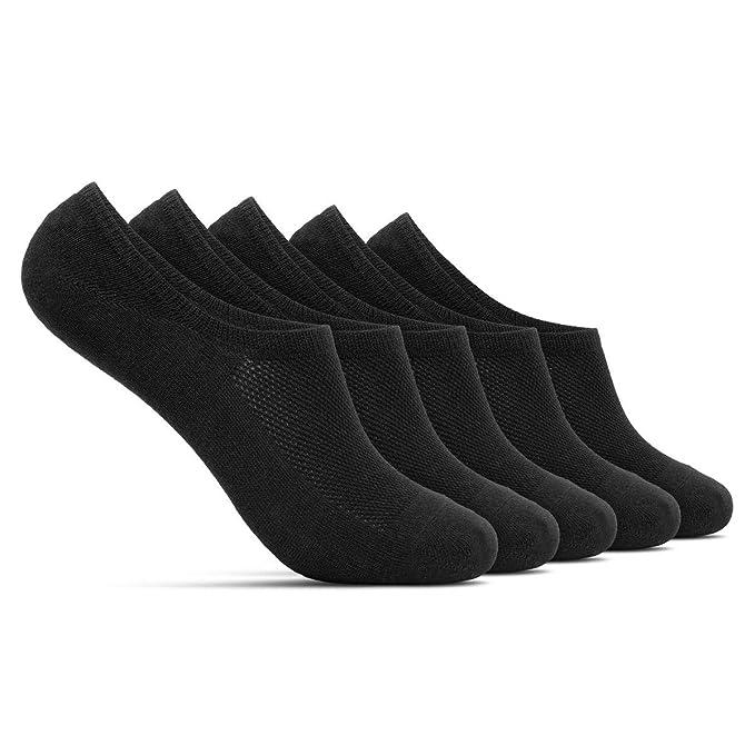 ROYALZ Calcetines zapatillas cortas 5 pares para hombre y mujer transpirables sneaker socks - calcetines invisibles: Amazon.es: Ropa y accesorios