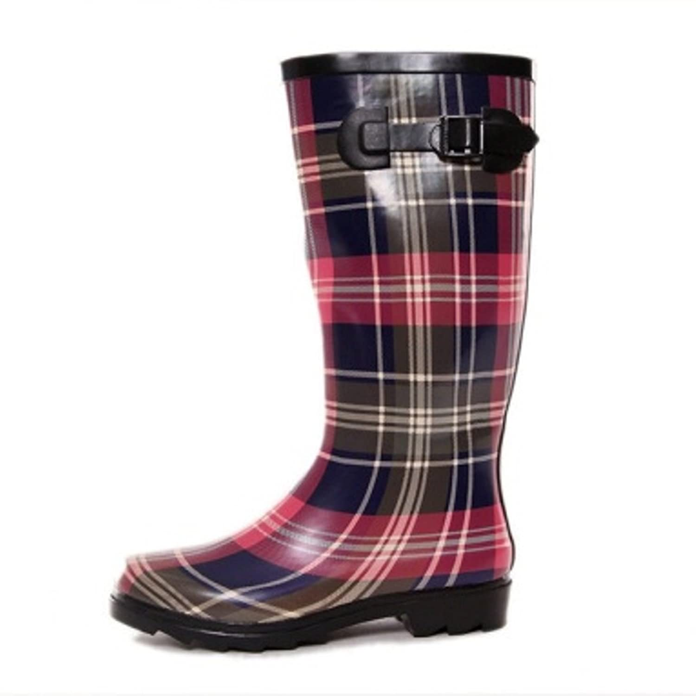 AimTrend Womens Waterproof Welly Rain Boots