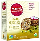 Marys Gone Crackers Cracker Chia & Hemp Org