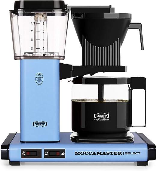 Moccamaster KBG Select - Cafetera de filtro azul pastel: Amazon.es ...
