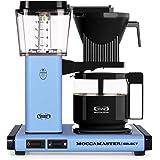 Moccamaster CD blå överflöde kaffemaskin KBG 741 utvald pastell