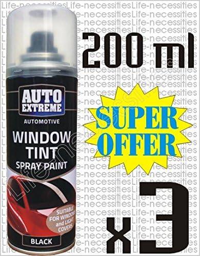 3 x 200 ml Auto Extreme coche luces de cristal cuerpo spray ...