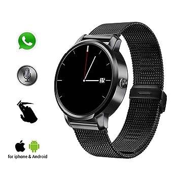 Anti-lost reloj inteligente, monitor de ritmo cardíaco Smartwatch, moda deportes reloj de