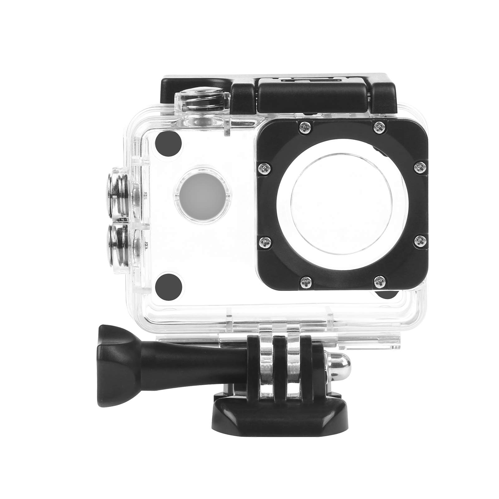 SHOOT 30m Waterproof Underwater Housing Case Shell Frame Cover for AKASO EK7000 EK5000 SJ4000 SJ4000 WIFI SJ4000 Plus SJ7000 DBPOWER EX5000 FITFORT Lightdow Campark WIMIUS Action Camera Accessories