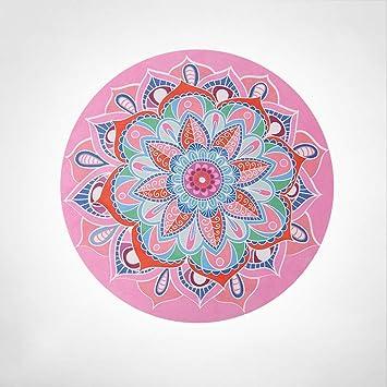 Amazon.com: HY - Alfombrilla de yoga plegable y redonda, de ...