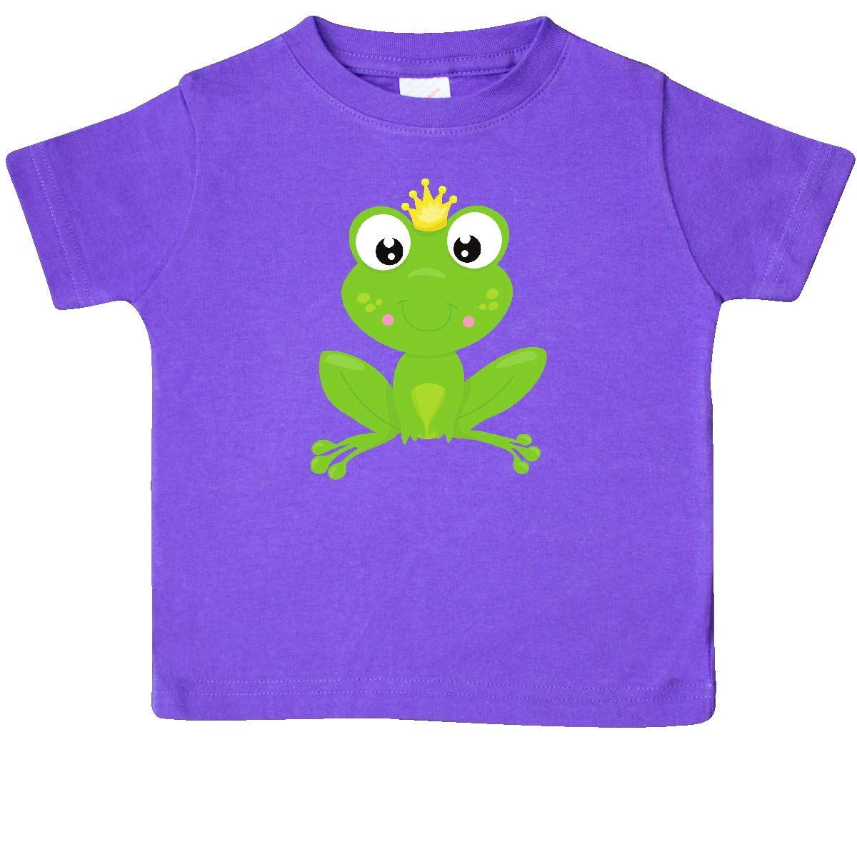 Frog with a Crown Baby T-Shirt inktastic Frog Prince Cute Frog