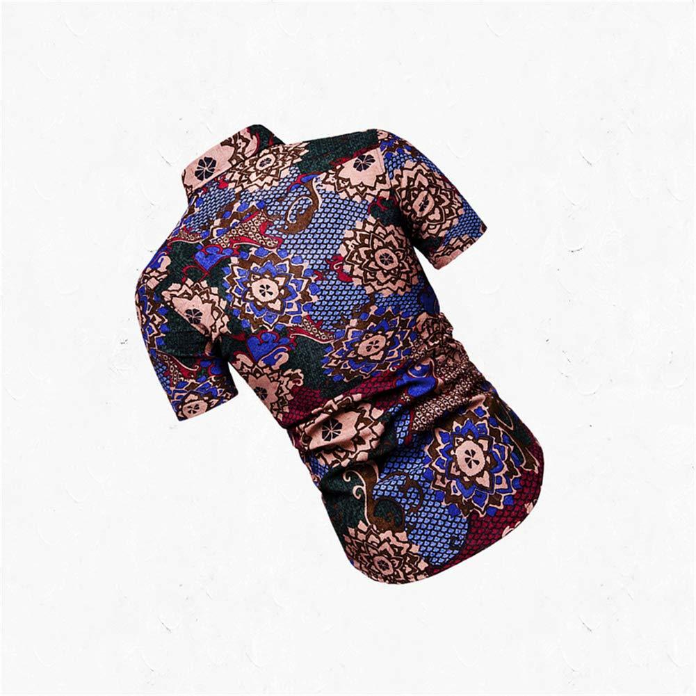 multicolored-13,XXXX-Large Casual Shirt Dock Flamingo Print Men