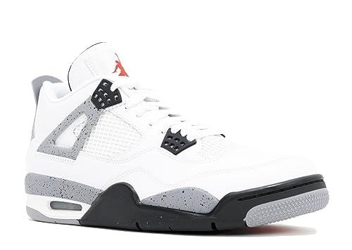 bb57aac515860 Nike Air Jordan 4 Retro White Cement (308497-103)