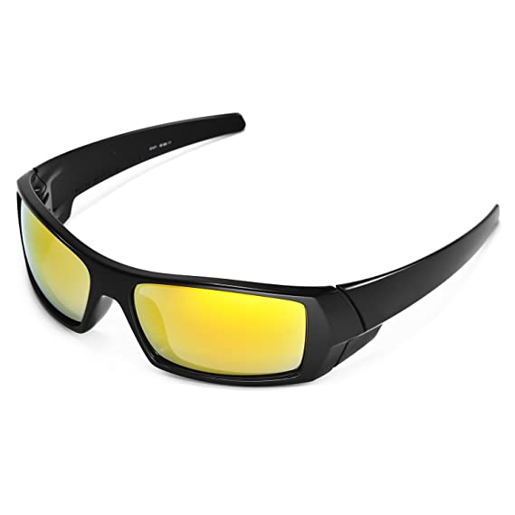 5767063f62 Amazon.com  Walleva Replacement Lenses for Oakley Gascan Sunglasses -  Multiple Options Available (24K Gold Mirror Coated - Polarized)  Shoes