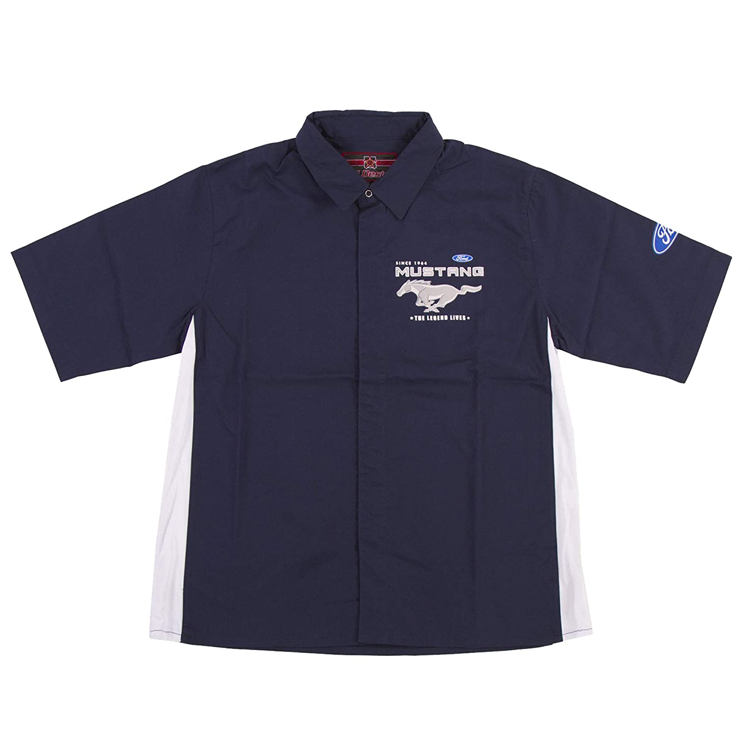 JH Design Ford Mustang Two Tone Pitcrew Shirt