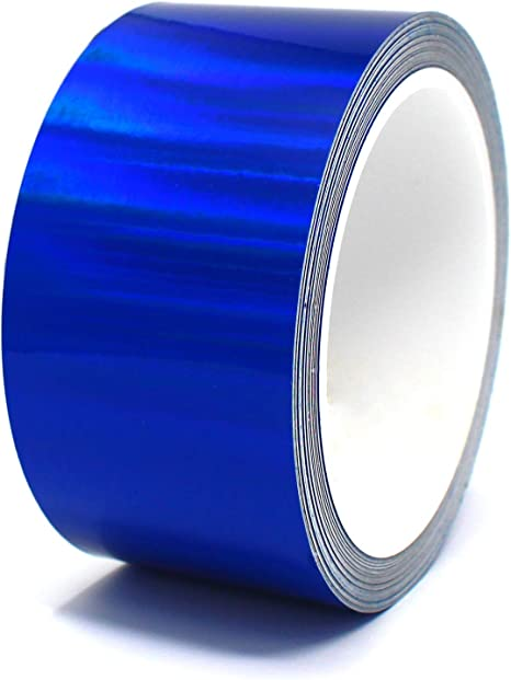 """Hologram Silver, 0,118/"""" Finest Folia Vinyl Stripe Holograph Tape Pinstriping Striping Sticker 33ft Car Motorcycle Bike RC Car Truck Boat Decal"""