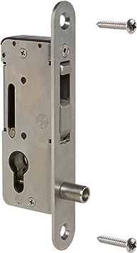 Cerradura loci Nox H de Compact übersteighemmend ya sin manillas, Puerta, Puerta corredera sin cilindro de deriva: Amazon.es: Bricolaje y herramientas