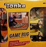 Tonka Game Rug with 2 Tonka Dump Trucks and 2 Boulders,31.5in*44in