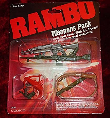 Rambo Weapons Pack ~ 1985 ~ 9 Extra Commando Weapons Arsenal