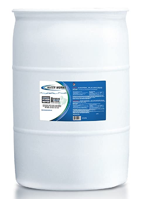 Water Works Storm Ultra Mild Alkaline Spray Wash, 1 Gallon: Amazon ...