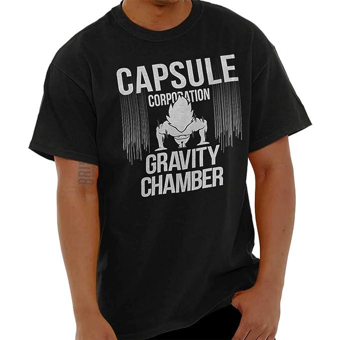 Nerdy Goku Ninja Pill Corporation Chamber T Shirt Tee