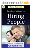 Employer's Guide to Hiring People (Basic Business Series) (English Edition)