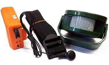 Berger + Schröter Detector de Movimiento Juego Hunting Alarma Detector de Wild, Verde, M: Amazon.es: Deportes y aire libre