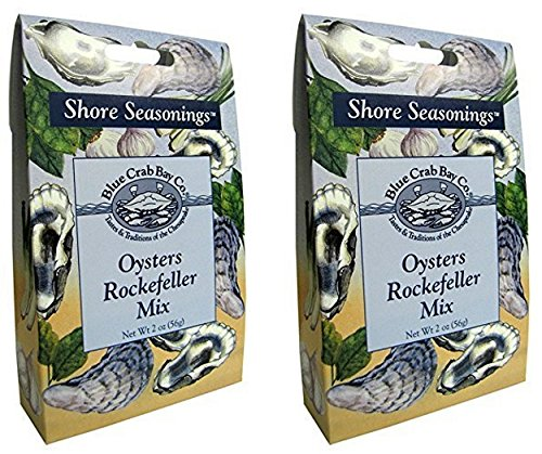 Blue Crab Bay Oysters Rockefeller Seasoning Mix - 2 Ounce (Pack of 2) by Blue Crab Bay Co.