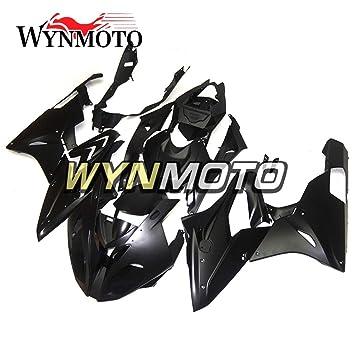 Inyección de plástico ABS wynmoto completa motocicleta embellecedores para BMW S1000RR año 15 - 16 Cuerpo Negro Mate marcos: Amazon.es: Coche y moto