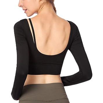 Amazon.com: Jalas - Camiseta de manga larga para mujer con ...