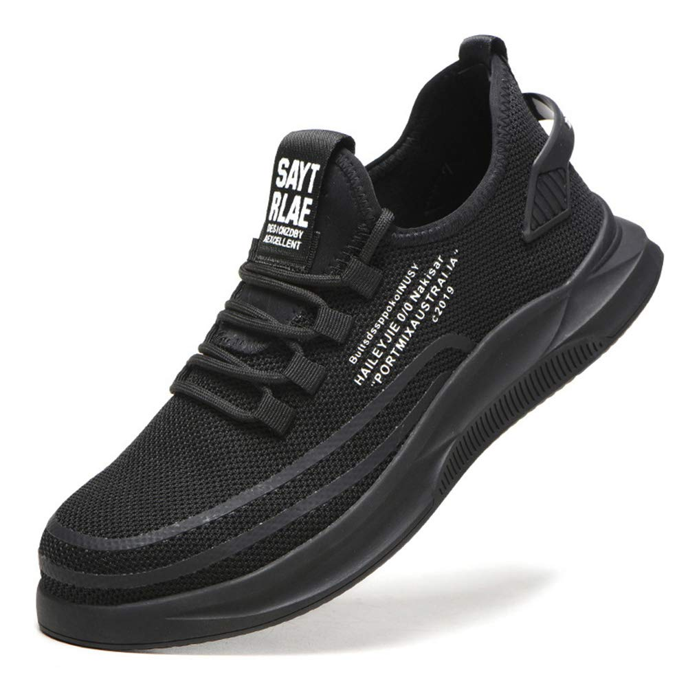 Liveday Safety Sports Shoes Fashion Sneakers Anti-Piercing Breathable Mesh Anti-Slip Safety Protective Shoes for Men Women