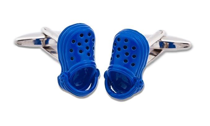 SoloGemelos - Gemelos Zapatillas Azules - Azul - Hombres - Talla Unica: SoloGemelos: Amazon.es: Ropa y accesorios