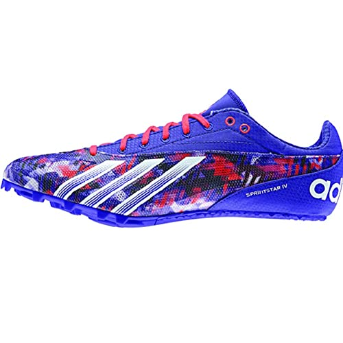 bc5a9cbc7349 Amazon.com  Adidas Sprint Star 4 Mens Track Shoes 13 Night Flash-White-Red   Everything Else
