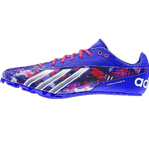 sale retailer 8b9b1 5fe62 Amazon.com  Adidas Sprint Star 4 Mens Track Shoes 13 Night Flash-White-Red   Everything Else