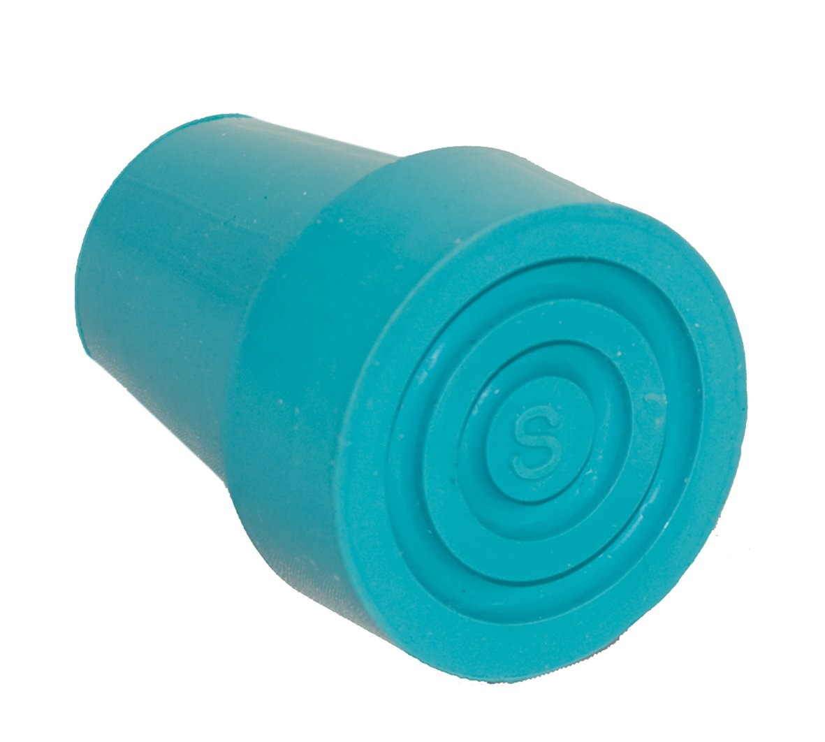 switch sticks Replacement Walking Stick Ferrule Cane Tip, Turquoise Blue