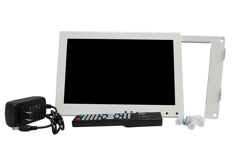 Kenuco White 10.1'' LED Monitor with HDMI/VGA/Composite/RCA Input by Kenuco (Image #3)