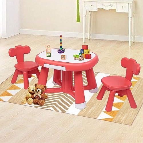 JOYMOR Kids Table and Chair Set