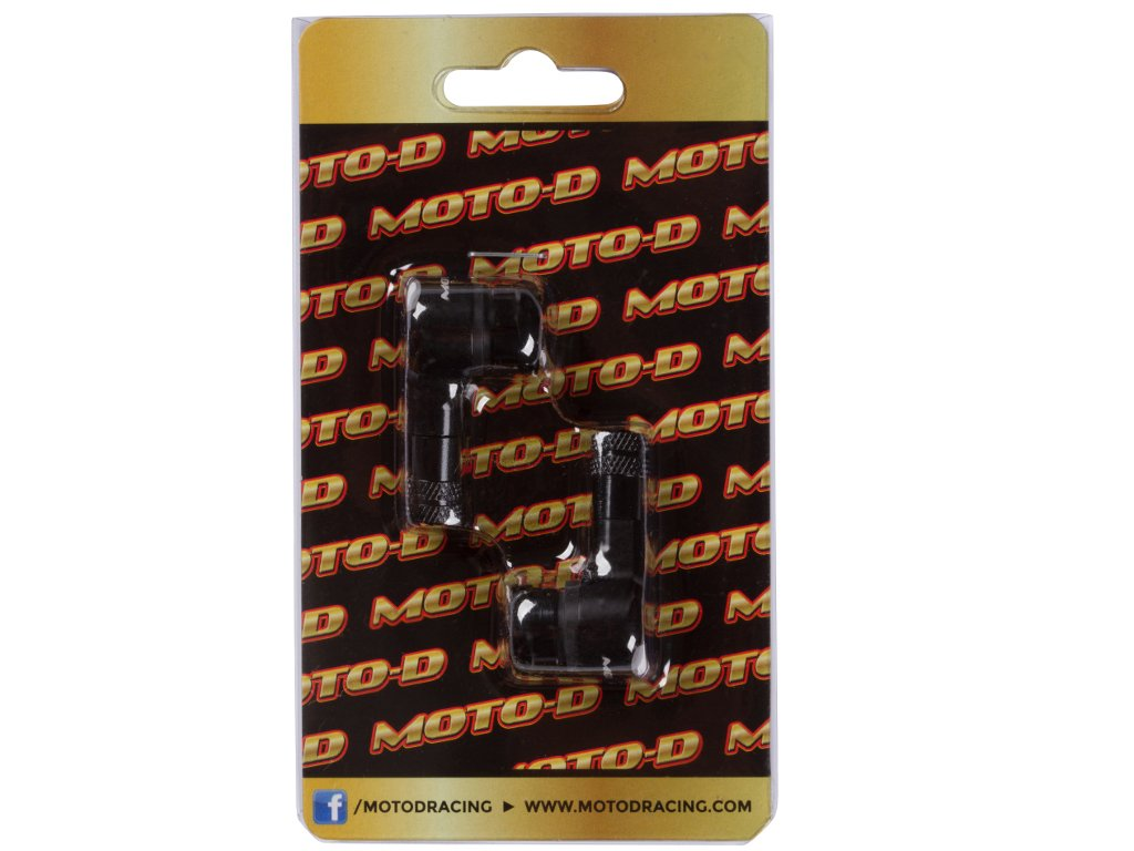 MOTO-D Angled Motorcycle Valve Stems (8.3mm)