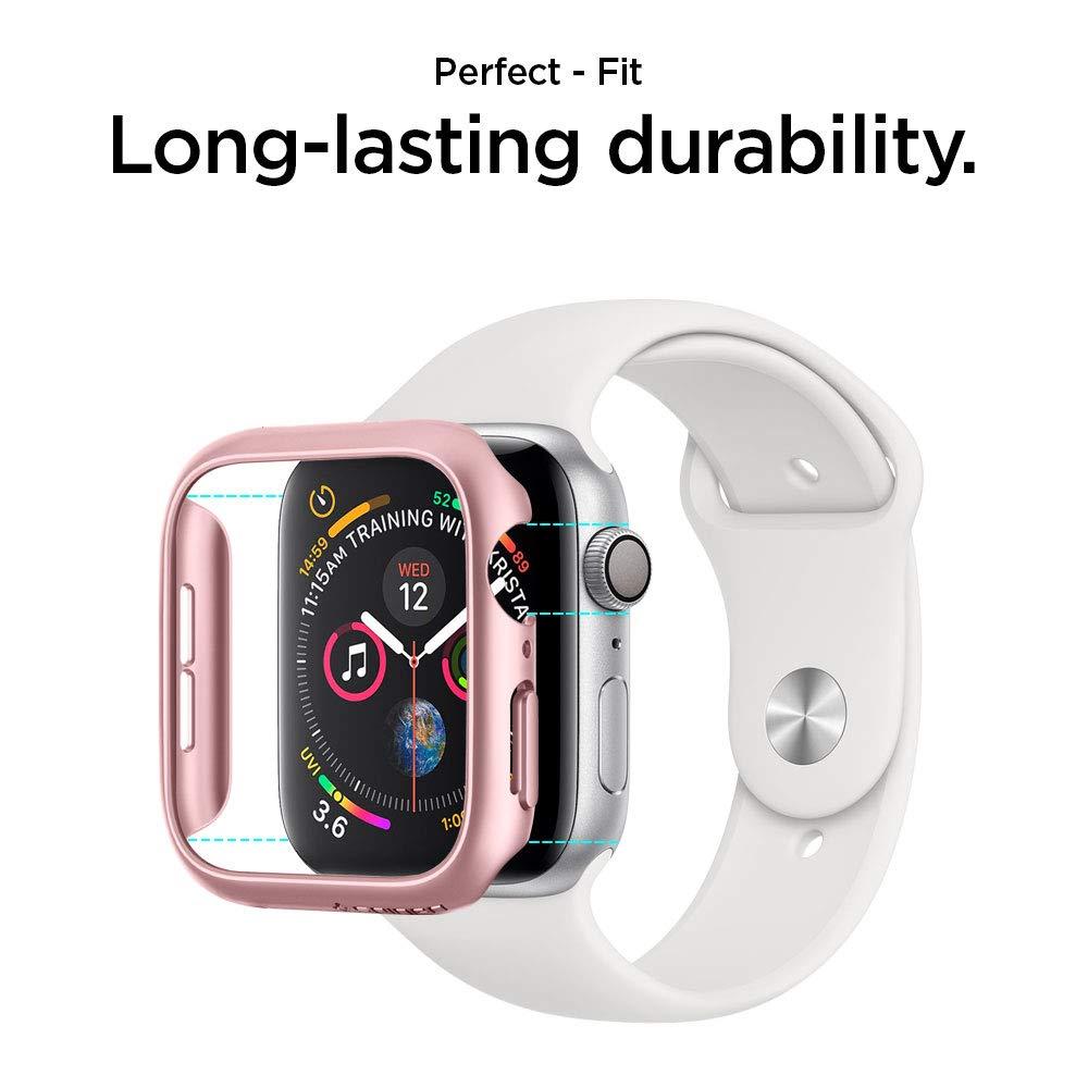 Spigen Thin Fit Designed for Apple Watch Case for 44mm Series 4 (2018) - Rose Gold by Spigen (Image #7)