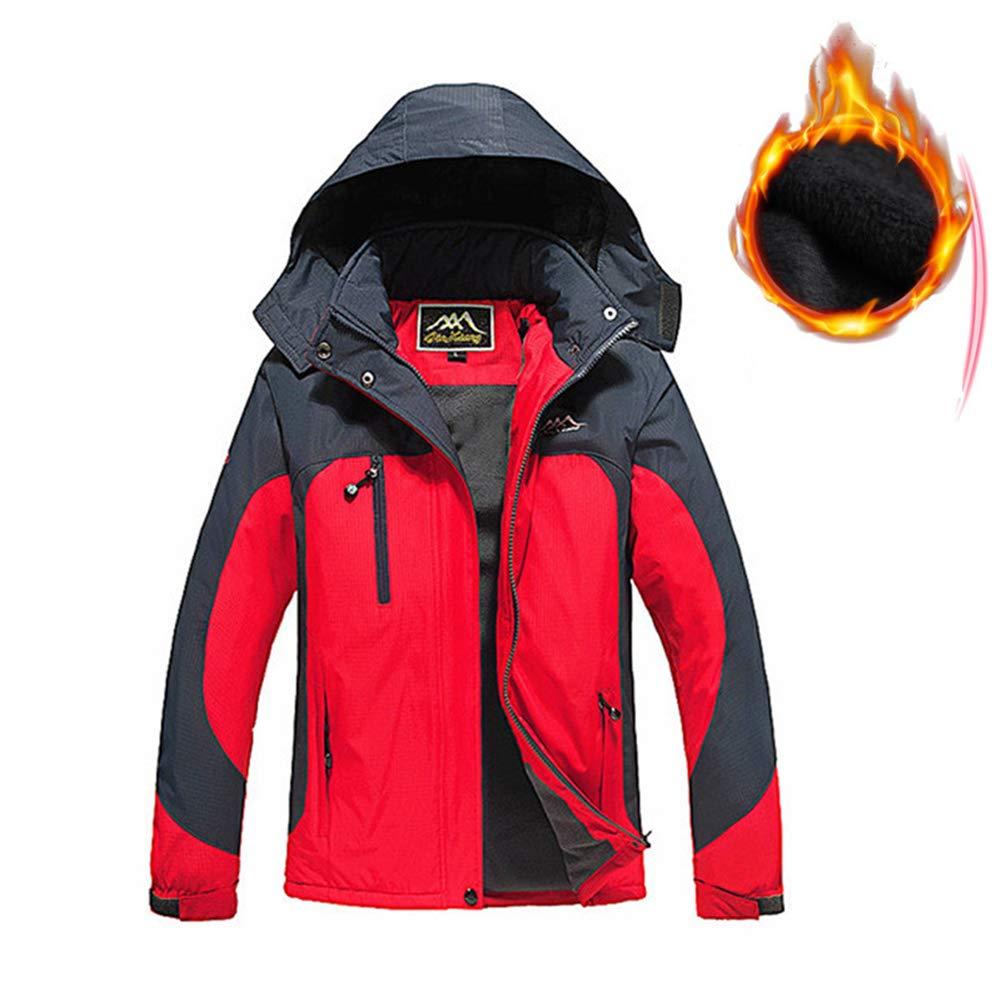RSTJ-Sjcw Man es Ski Jacket 3 in 1 wasserdicht USB Electric Heated Security Winter Jacket Snow Jacket Windproof Hooded with Inner Warm Fleece Coat