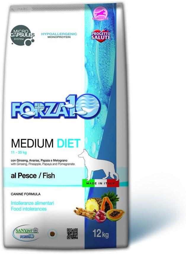 FORZA 10 Medium Diet Pescado seco Perro kg 12 - Alimento seco para Perros
