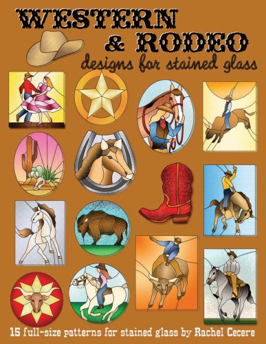 Western & Rodeo Designs for Stained ()