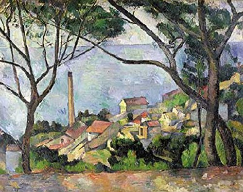 Ricordi Vue de l'Estaque -1878 1500 Piece Paul Cezanne Jigsaw Puzzle