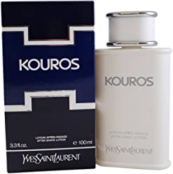Kouros By Yves Saint Laurent For Men. Aftershave 3.3 Ounces
