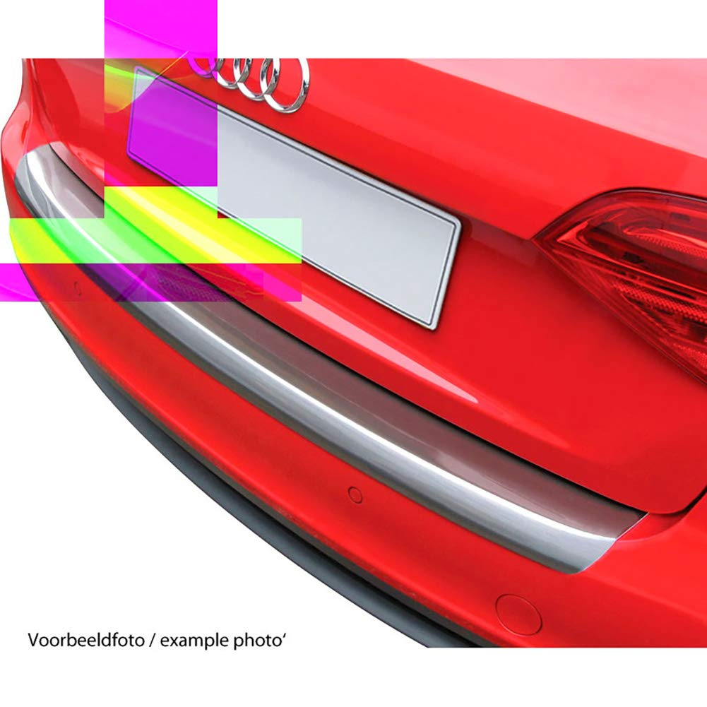 Unbekannt RGM rbp4808/Schutz Schwelle hinten ABS Look geb/ürstetes Aluminium